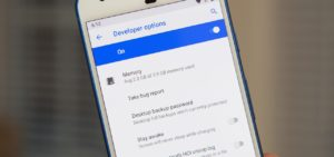 Using developer settings in Android to increase the system sound